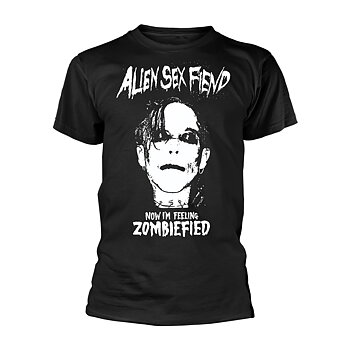 ALIEN SEX FIEND - T-SHIRT, ZOMBIEFIED