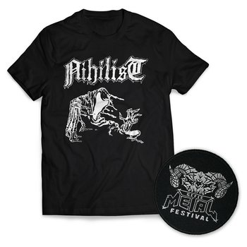 NIHILIST / GMF BUNDLE (T-SHIRT+PATCH)