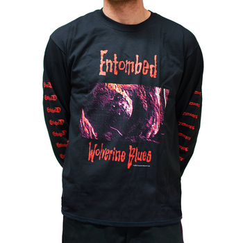 ENTOMBED - LONG SLEEVE, WOVERINE BLUES 1993 RE-VISITED