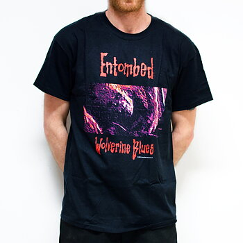 ENTOMBED - T-SHIRT, WOLVERINE BLUES 1993 RE-VISITED