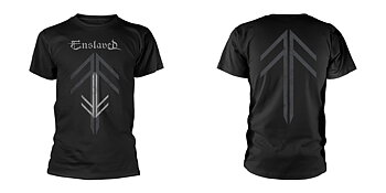 ENSLAVED - T-SHIRT, RUNE CROSS