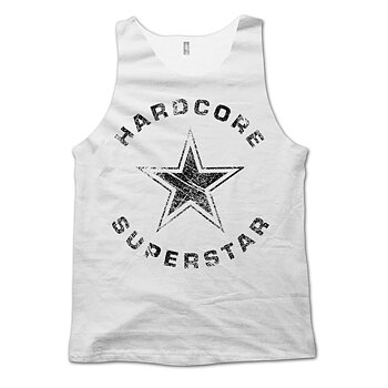 HARDCORE SUPERSTAR - TANK TOP, TRASH LOGO VINTAGE