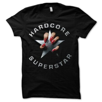 HARDCORE SUPERSTAR - T-SHIRT, BLACK ALBUM
