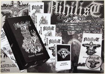 NIHILIST - CASSETTE BOX, CARNAL LEFTOVERS