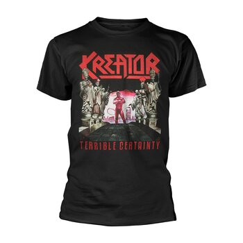 KREATOR - T-SHIRT, TERRIBLE CERTAINTY