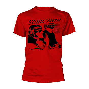 SONIC YOUTH - T-SHIRT, GOO ALBUM COVER (RED)