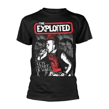 THE EXPLOITED - T-SHIRT, LET'S START A WAR