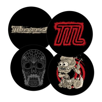 MUSTASCH - COASTERS 4-PACK