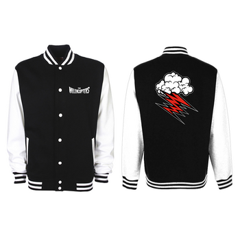 HELLACOPTERS - VARSITY JACKET, CLOUD -18