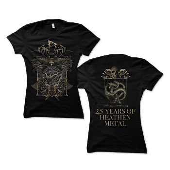 MÅNEGARM - LADY T-SHIRT, 25 YEARS OF HEATHEN METAL