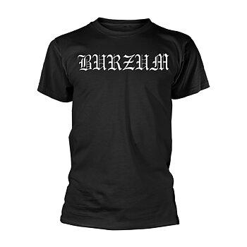 BURZUM - T-SHIRT, WHITE LOGO