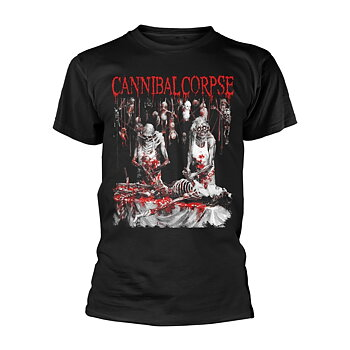 CANNIBAL CORPSE - T-SHIRT, BUTCHERED AT BIRTH (EXPLICIT)