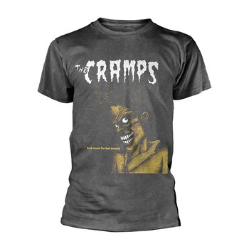 CRAMPS, THE - T-SHIRT, BAD MUSIC FOR BAD PEOPLE (VINTAGE WASH)
