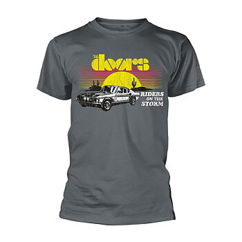 THE DOORS - T-SHIRT, RIDERS ON THE STORM