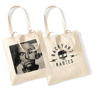 BACKYARD BABIES - TOTE BAG, SLEAZY