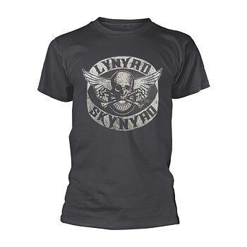 LYNYRD SKYNYRD - T-SHIRT, BIKER PATCH