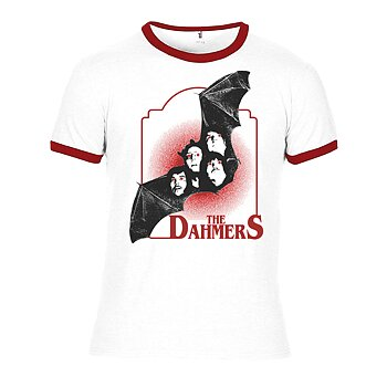 THE DAHMERS - T-SHIRT, BAND BAT