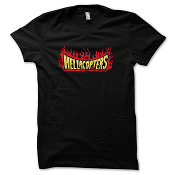 HELLACOPTERS - T-SHIRT, VINTAGE FLAMES