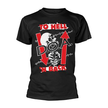 D.O.A - T-SHIRT, TO HELL N BACK