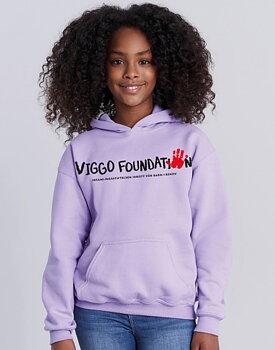 VIGGO FOUNDATION - HOODIE BARN, LILA
