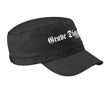 GRAVE DIGGER - ARMY CAP, LOGO