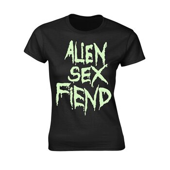 ALIEN SEX FIEND - GIRLIE, LOGO GLOW