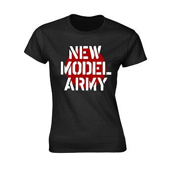 NEW MODEL ARMY - GIRLIE, LOGO BLACK