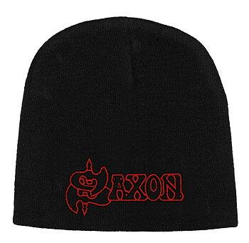 SAXON - BEANIE HAT, LOGO