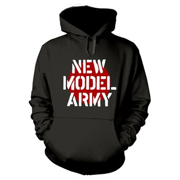 NEW MODEL ARMY - HOODIE, LOGO BLACK