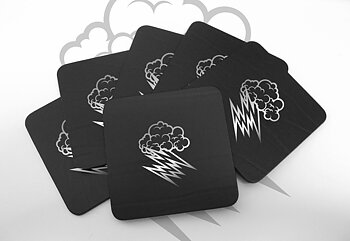HELLACOPTERS - 6 COASTERS