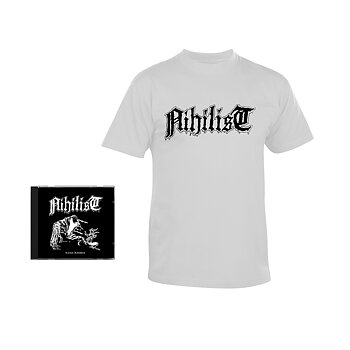 NIHILIST - CARNAL LEFTOVERS, BUNDLE (CD + T-SHIRT)