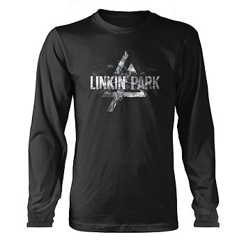 LINKIN PARK - LONG SLEEVE, SMOKE LOGO