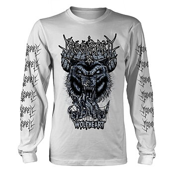MOONSPELL - LONG SLEEVE, WOLFHEART WHITE
