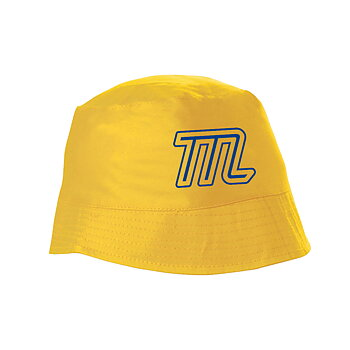 MUSTASCH - BEPPE HAT, M (BLUE & YELLOW)