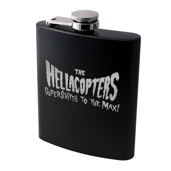 HELLACOPTERS - SPIRIT FLASK, LOGO