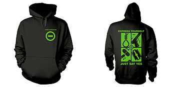 TYPE O NEGATIVE - HOODIE, EXPRESS YOURSELF