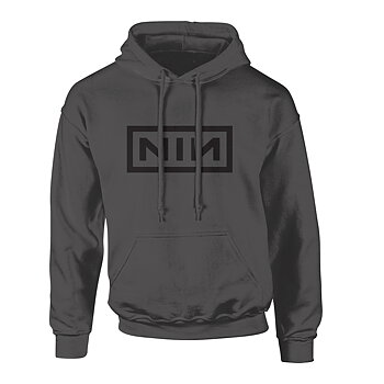 NINE INCH NAILS - HOODIE, CLASSIC BLACK LOGO
