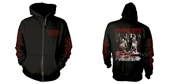 CANNIBAL CORPSE - ZIP HOOD, BUTCHERED AT BIRTH EXPLICIT