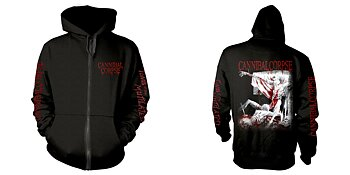 CANNIBAL CORPSE - ZIP HOOD, TOMB OF THE MUTILATED EXPLICIT
