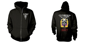 TESTAMENT - ZIP HOOD, THE LEGACY