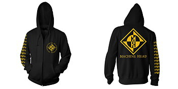 MACHINE HEAD - ZIP HOOD, DIAMOND
