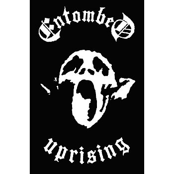 ENTOMBED - TEXTILE POSTER, UPRISING