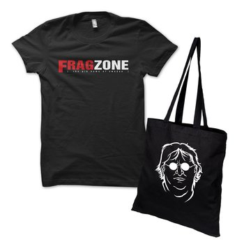 Specialpaket: Fragzone Retro Logo Tee och Bag of Gaben