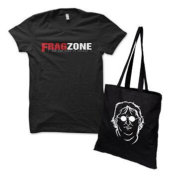 Specialpaket: Fragzone Retro Logo Tee och Bag of Gaben
