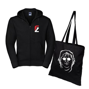 Specialpaket: FZ Logo – Zip-hoodie och Bag of Gaben