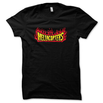 HELLACOPTERS - T-SHIRT, FLAMES LOGO