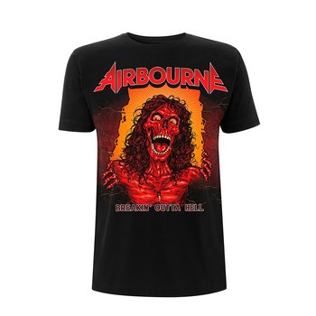 AIRBOURNE - T-SHIRT, BOH SKELETON