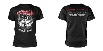 TANKARD - T-SHIRT, ALCOHOLIC METAL