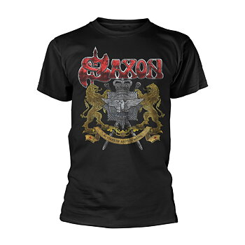 SAXON - T-SHIRT, 40 YEARS
