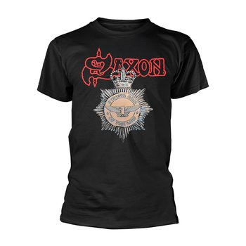 SAXON - T-SHIRT, STRONG ARM OF THE LAW